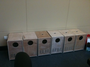 This is how our plant factory boxes look like