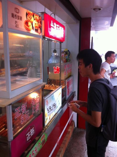 Chun Yong loves his food.