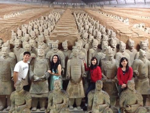 兵馬俑, the Terracotta Army