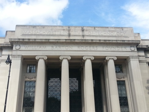 The main MIT building. Regal and beautiful in stature, it's truly something to admire.