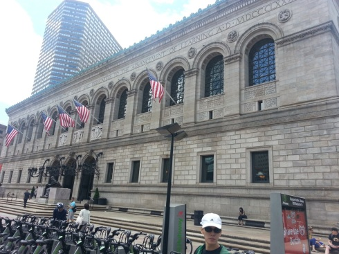 The Boston Library. Might not look like much on the outside, but as the saying goes, one shouldn't judge a book by its cover.