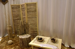 Products designed and made with wood and bamboo