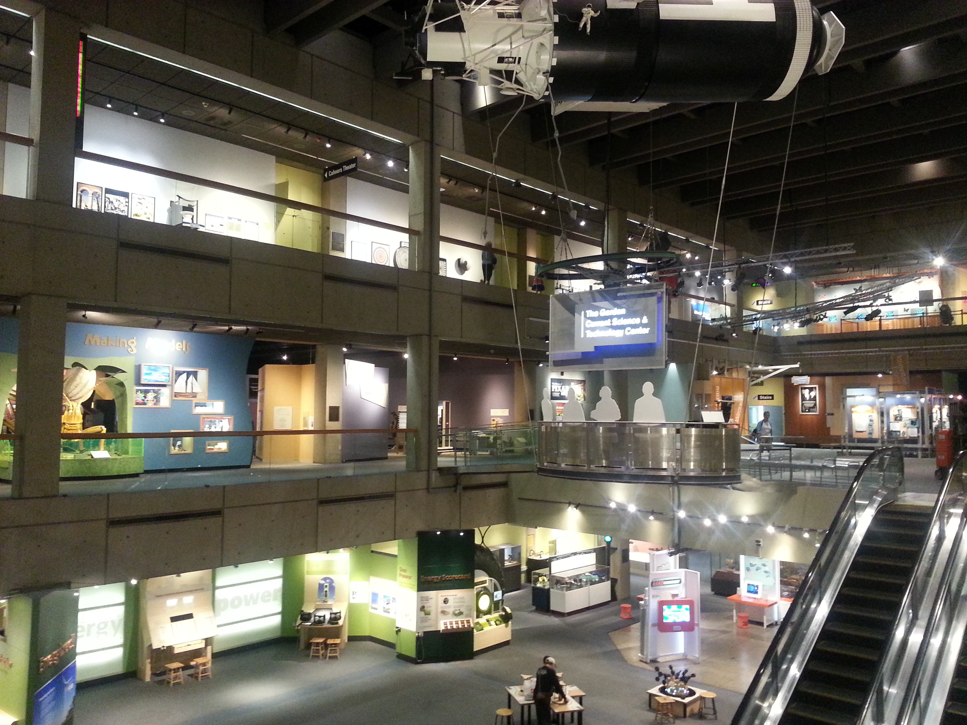 ... access to the Boston Museum of Science. Located only a short bicycle  ride away from MIT, the MoS is also host to the Charles Hayden Planetarium,  ...