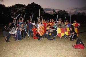 sword fighting sport!