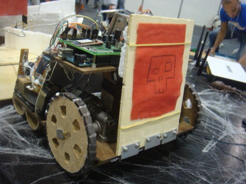 Red Team's Machine 2 (back)