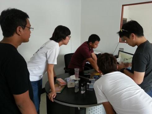 At a prototyping company